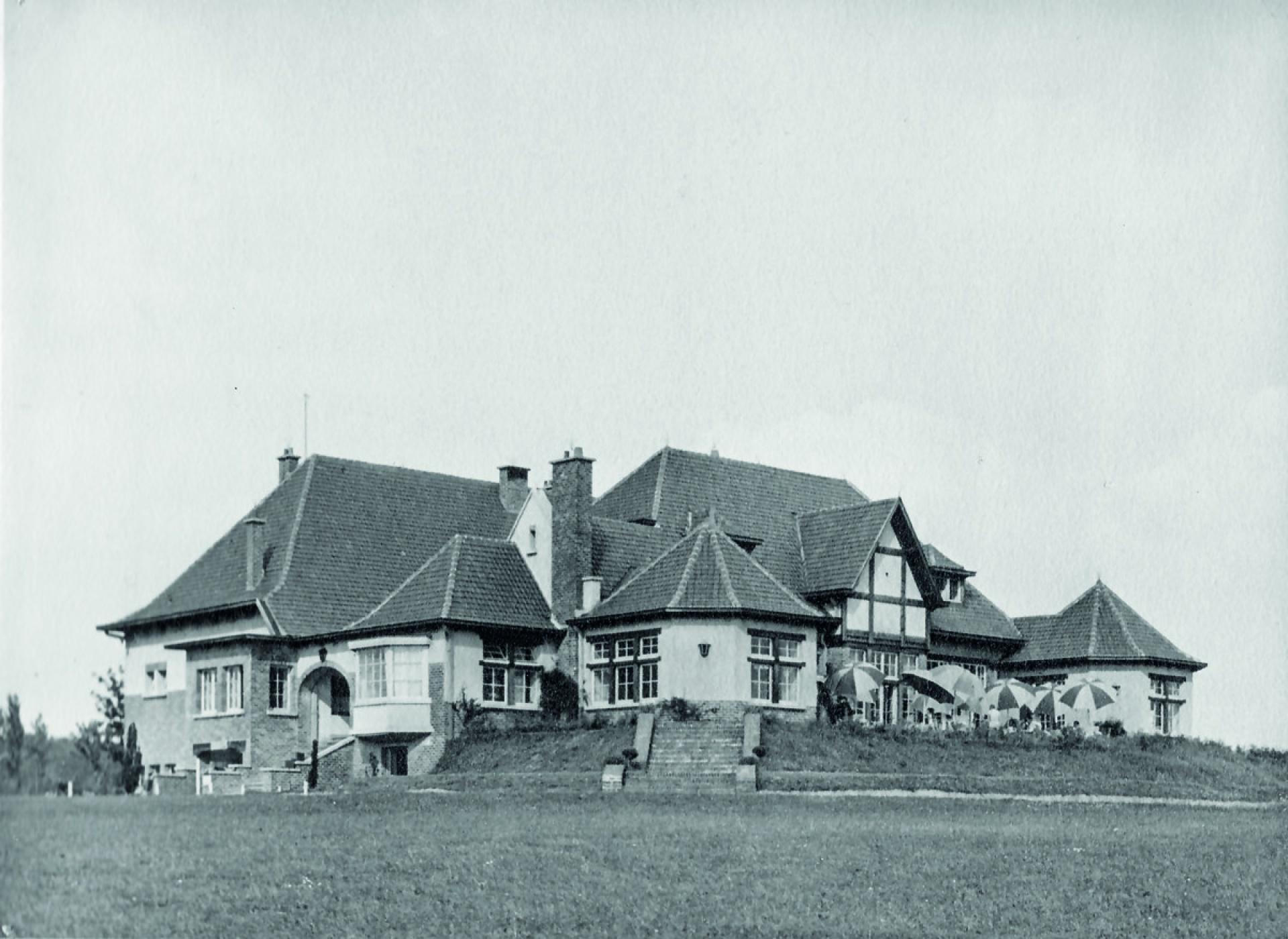 Le club house - 1928