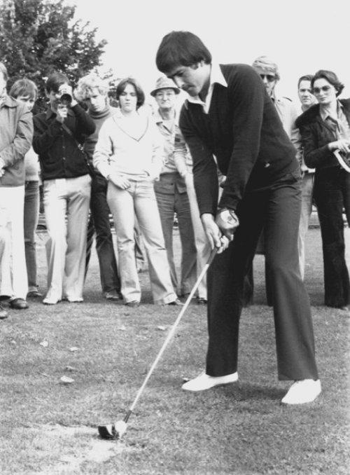 1976 - Grâce au Challenge Swaelens, on découvre de grands joueurs comme Severiano Ballesteros